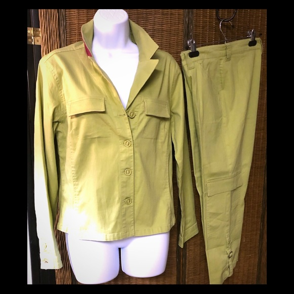FDJ french dressing Pants - FDJ FRENCH DRESSING- NWOT, CargoCapri PANTSUIT